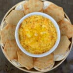Baked Cheddar Cheese & Black Pepper Spread | www.craftycookingmama.com