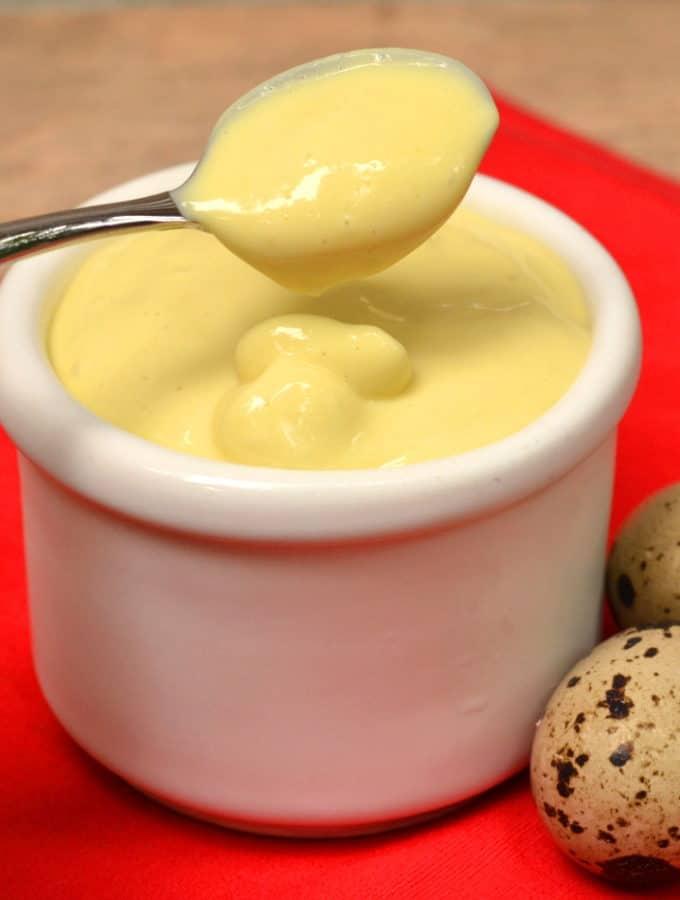 Homemade Quail Egg Mayo