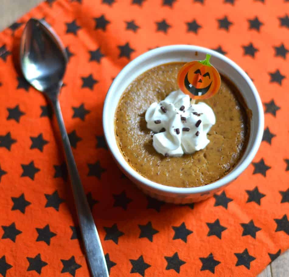 Pumpkin Custard w/ Whipped Cream