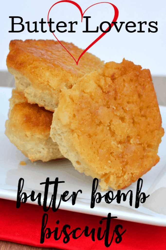 Butter Bomb Dipped Biscuits