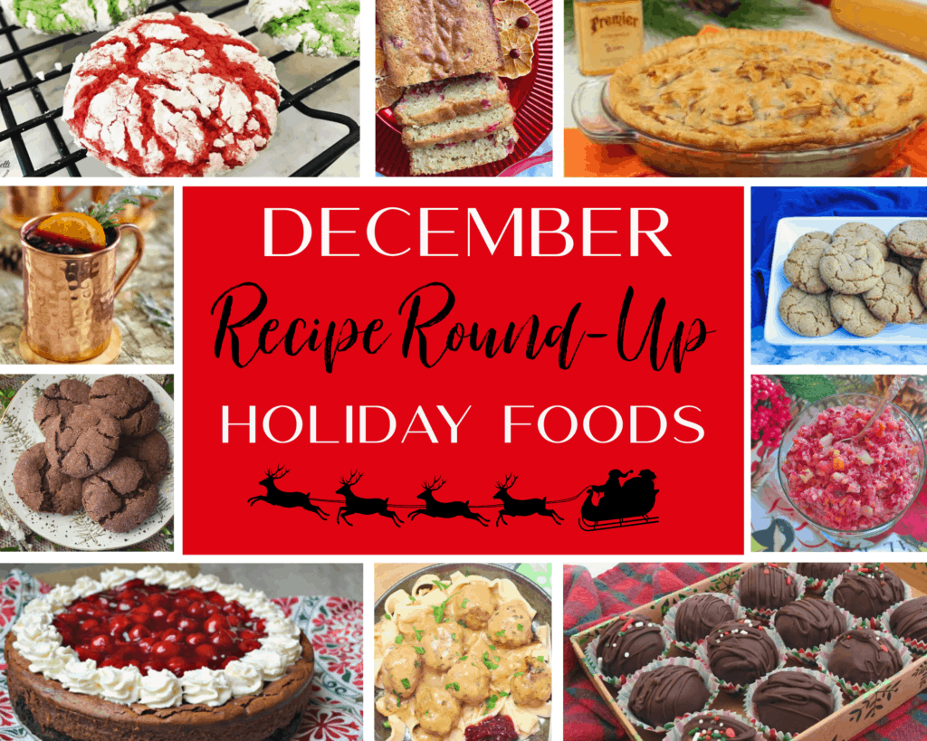 December Recipe Round Up | Holiday Food & Recipes