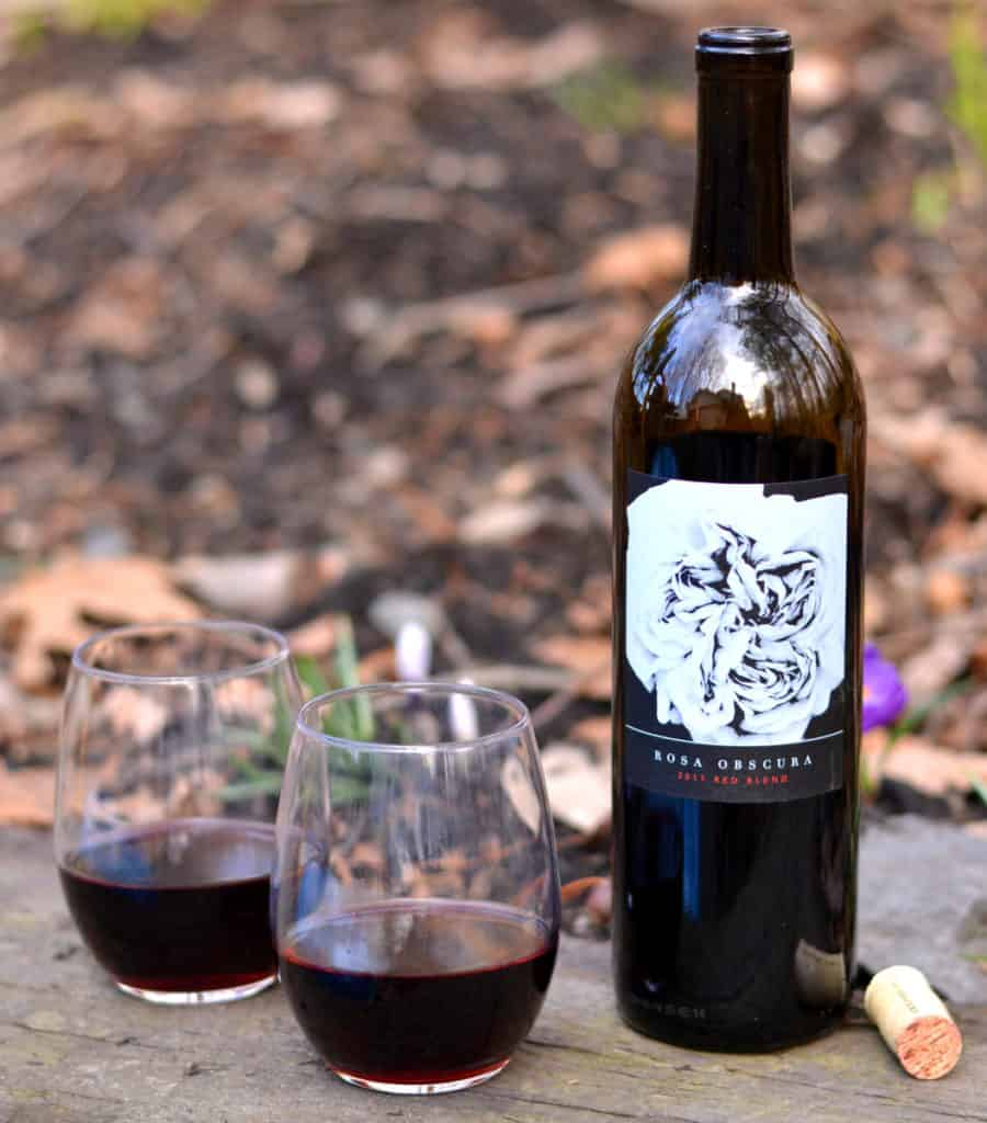 2017 Rosa Obscura Red Blend Bottle from Winc Winery