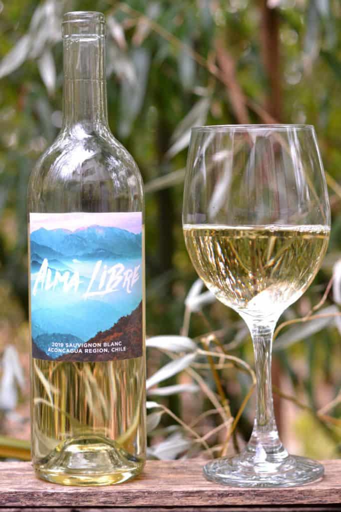Alma Libre Sauvignon Blanc Bottle from Winc Winery